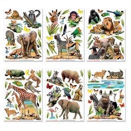Jungle muurstickers Safari WT
