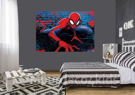 Spiderman fotobehang Marvel V2