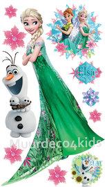 Frozen Fever muursticker Elsa XXL