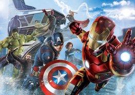Avengers fotobehang Vinyl