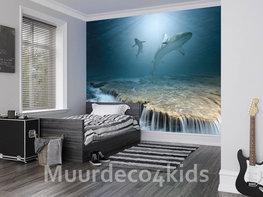Haaien fotobehang