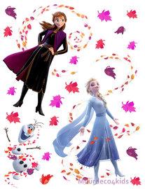 Frozen II muurstickers XL Anna Elsa