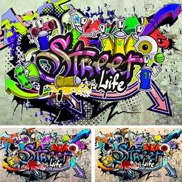 Street Life Graffiti fotobehang