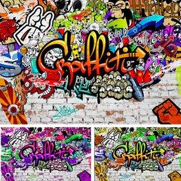 Graffiti Muur fotobehang