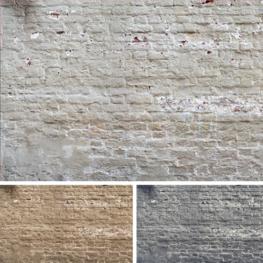 Gekleurde oude muur fotobehang