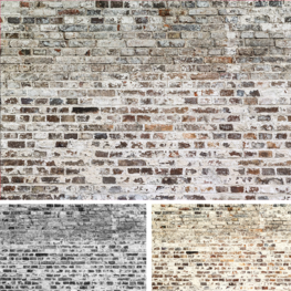 Oude stenen muur fotobehang