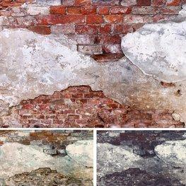 Oude muur fotobehang