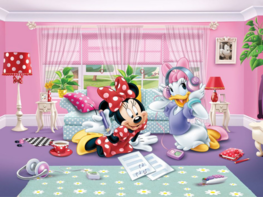 Minnie Mouse fotobehang XL