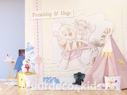 Winnie the Pooh fotobehang Friendship XL