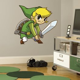 Zelda maxi muursticker Spirit Tracks