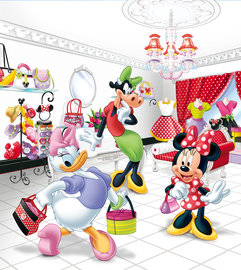 Minnie Mouse behang M