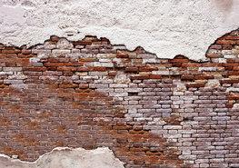 Fotobehang Industriële muur