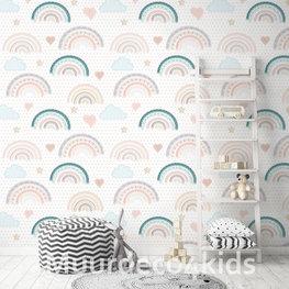 Fotobehang Regenboog patroon