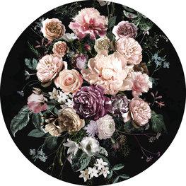 Behangcirkel Enchanted Flowers
