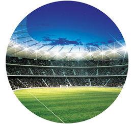 Behangcirkel Voetbal Stadion
