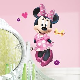 Minnie Mouse maxi muursticker