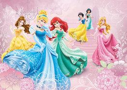 Disney Princess vlies fotobehang Prinsessen XL