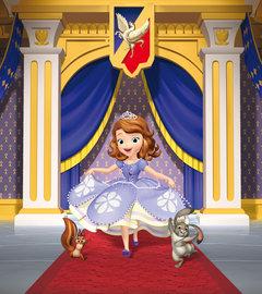 Sofia het prinsesje behang M