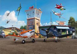 Disney Planes behang XL Vliegveld