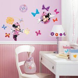 Minnie Mouse muurstickers Bow-tique