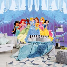 Disney Princess fotobehang In Castle