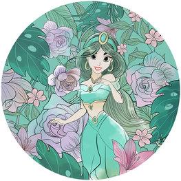 Behangcirkel Disney Princess Jasmine