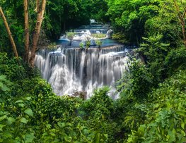 Waterval fotobehang Thailand I