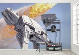 Star Wars fotobehang Battle of Hoth