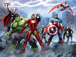 Avengers fotobehang XL