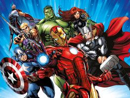 Avengers fotobehang Heroes XL