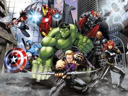 Avengers behang Street Rage XL