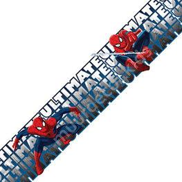Spiderman behangrand 20 cm hoog