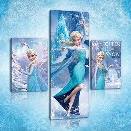 Disney Frozen canvas set Snow Queen