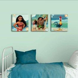 Vaiana canvas schilderij set