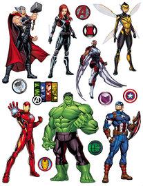Avengers muurstickers XL