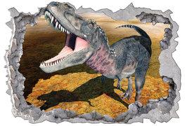 Dinosaurus 3D muursticker Megalosaurus