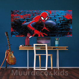 Spiderman poster behang H