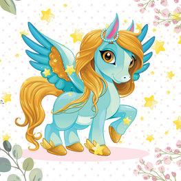 Flying Pony behang Goldie