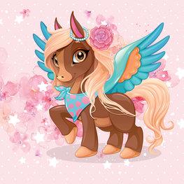 Flying Pony behang Rosie