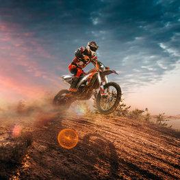 Motorcross fotobehang