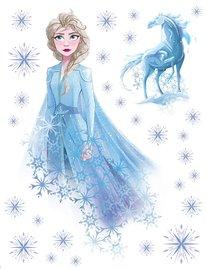 Frozen II muurstickers Elsa XL