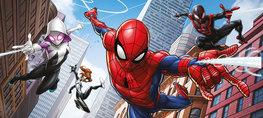 Spiderman behang poster Web Warriors