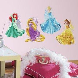 Disney Princess maxi muurstickers Castles