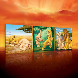 Lion King canvas set