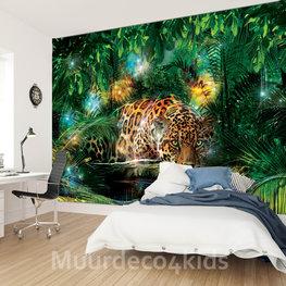 Jaguar Jungle fotobehang