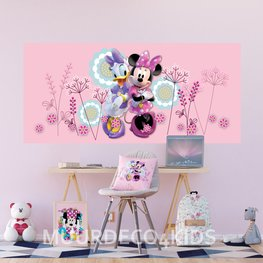 Minnie Mouse behang poster H