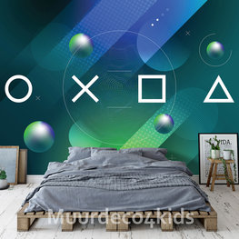 Game behang Controller Symbols