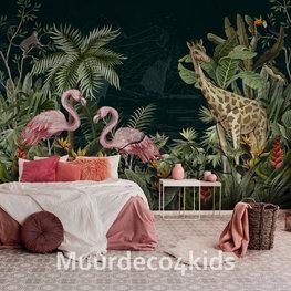 Jungle behang Nacht