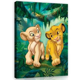 Lion King canvas 60 x 80 cm