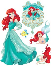 Disney Princess muurstickers Ariel